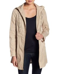 Guess - Lace-up Coat - Lyst