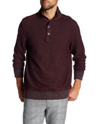 Tommy Bahama - Scrimshaw Button Mock Neck Pullover - Lyst