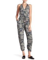 Mustard Seed - Camo Print Jumpsuit - Lyst
