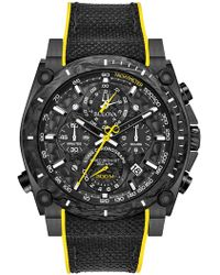 Bulova - Men's Precisionist Strap Watch, 46.5mm - Lyst