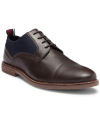 Ben Sherman - Brent Leather Cap Toe Derby - Lyst