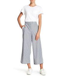 June & Hudson - Stripe Pants - Lyst