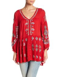Free People - Arianna Patterned Tunic - Lyst
