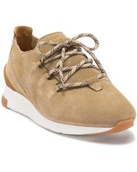 H by Hudson - Trelawny Suede Trainer - Lyst