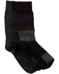 Frye - Tonal Crew Socks - Pack Of 3 - Lyst