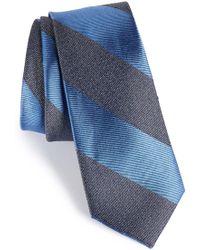 Calibrate - Marble Stripe Silk Tie - Lyst