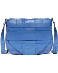Christopher Kon - Pannier Weave Leather Crossbody Bag - Lyst