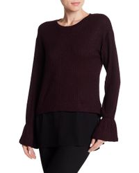 BCBGeneration - Mixed Combo Blouse - Lyst