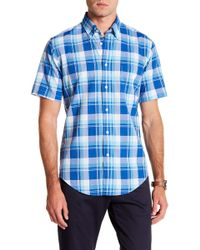 Brooks Brothers - Baiting Hollow Short Sleeve Regent Fit Shirt - Lyst