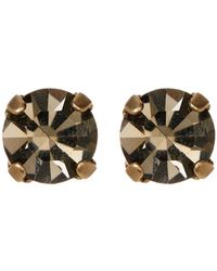 Loren Hope - Kaylee Crystal Stone Stud Earrings - Lyst