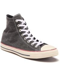 783759974875 Lyst - Converse Chuck Taylor All Star Leather High Top Sneaker ...