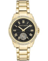 Vince Camuto - Women's Leopard Dial Bracelet Watch, 34mm - Lyst