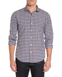 Bonobos - Unbutton Down Slim Fit Check Sport Shirt - Lyst