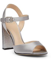 Guess - Dedee Satin Peep Toe Pump - Lyst