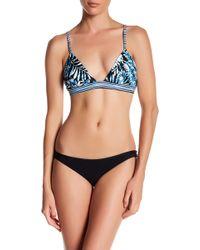Nicole Miller - Triangle Bikini Top - Lyst
