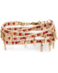 Treasure & Bond - Beaded Wrap Bracelet - Lyst