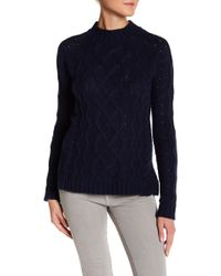 Olive & Oak - Cable Knit Sweater - Lyst