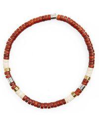 Link Up - Shell Bead Bracelet - Lyst