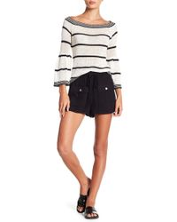 BB Dakota - Paisley Solid Shorts - Lyst