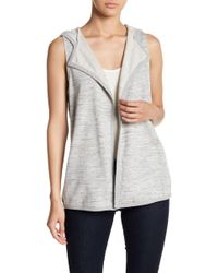 BB Dakota - Bella Hooded Vest - Lyst