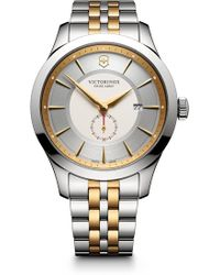 Victorinox - Men's Alliance Analog Quartz Bracelet Watch, 44mm - Lyst