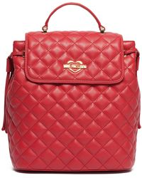 Love Moschino - Quilted Backpack - Lyst