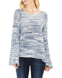 Two By Vince Camuto | Drop Shoulder Space Dye Jumper | Lyst