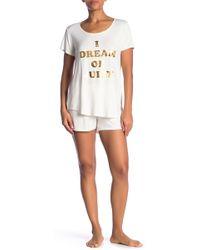 Juicy Couture - Juicy Dreamer Pajama 2-piece Set - Lyst