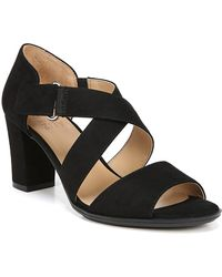 08dcc803930 Lyst - Vince Camuto Eliaz Heel Leather Sandal - Wide Width Available ...