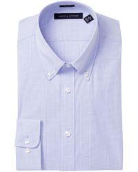 Tommy Hilfiger - Slim Fit Gingham Dress Shirt - Lyst