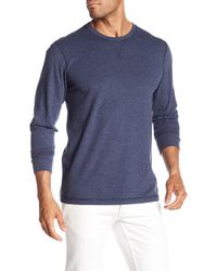 Faherty Brand - Long Sleeve Crew Neck Sweatshirt - Lyst