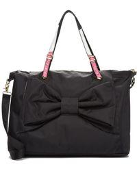 Betsey Johnson - Yoga Mat Bow Weekend Bag - Lyst