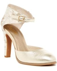Seychelles - Hopeful Suede Ankle Strap Pump - Lyst