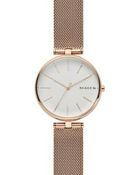 Skagen - Women's Signature Mesh Strap Watch, 36mm - Lyst