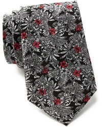Ted Baker - Hibiscus Botanical Silk Tie & Pocket Square Set - Lyst