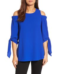 Gibson - Cold Shoulder Top - Lyst