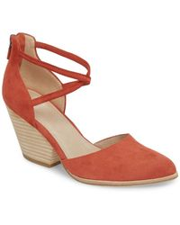 Eileen Fisher - Tilda Stacked Heel Pump (women) - Lyst