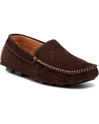 Robert Graham - Neo Suede Loafer - Lyst