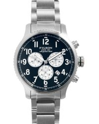 Filson - Men's Mackinaw Field Chronograph Bracelet Watch - Lyst