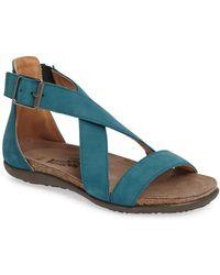 Naot - Rianna Crisscross Sandal (women) - Lyst