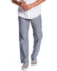 Joe Fresh - Linen Blend Straight Pants - Lyst