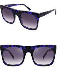 e38d76a1e4 Kendall + Kylie - Women s Roxanne Oversized Square Sunglasses - Lyst