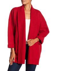 Eileen Fisher - Boiled Wool Jacket - Lyst