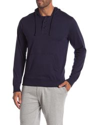 Unsimply Stitched - Light Weight Henley Hoodie - Lyst