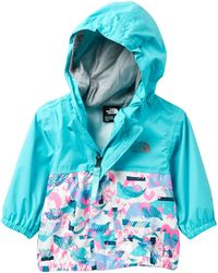 c4279a2ef Lyst - The North Face Flurry Wind Jacket (baby Girls) in Pink