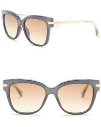 fb7110271ca Lyst - Jimmy Choo Women s Reece s 55mm Sunglasses in Gray