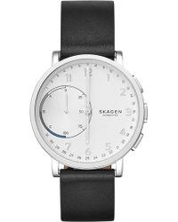 Skagen   Men's Hagen Hybrid Smart Leather Strap Watch, 42mm   Lyst