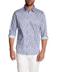 Robert Graham - Slim Fit Printed Dress Shirt - Lyst
