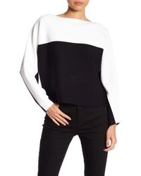 Kendall + Kylie - Colorblock Sweater - Lyst