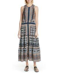 Sea - Ezri Print Maxi Dress - Lyst